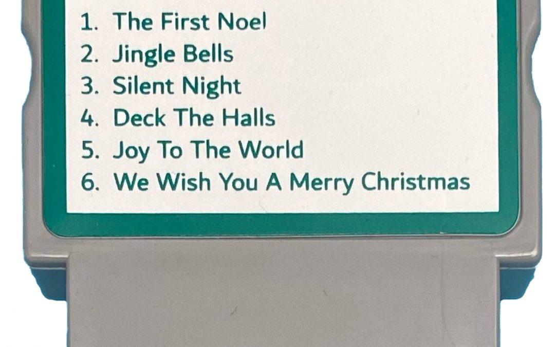 Melody Cartridge – Christmas (Harmonica) – $P0901-Free2 (Free with ICS Clock)